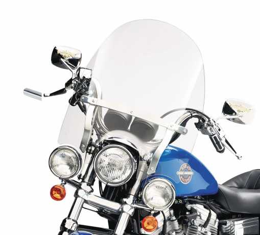 """Harley-Davidson Detachable Compact Windshield 18"""" clear  - 57716-01"""