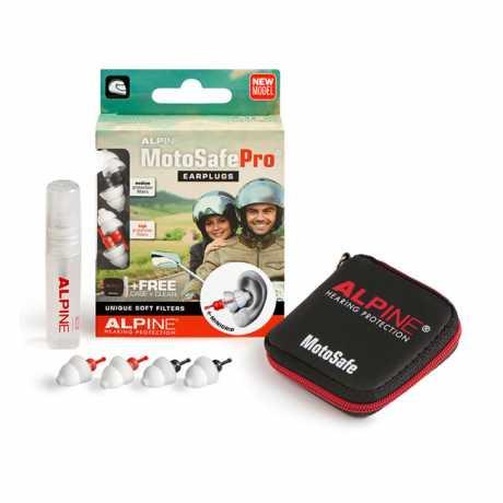 Alpine Alpine Motosafe Pro Ohrstöpsel mit Mini Grip  - 577476