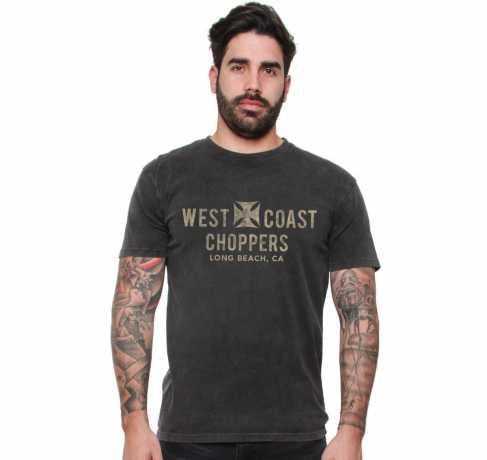 West Coast Choppers West Coast Choppers Eagle Vintage T-Shirt Black M - 577607