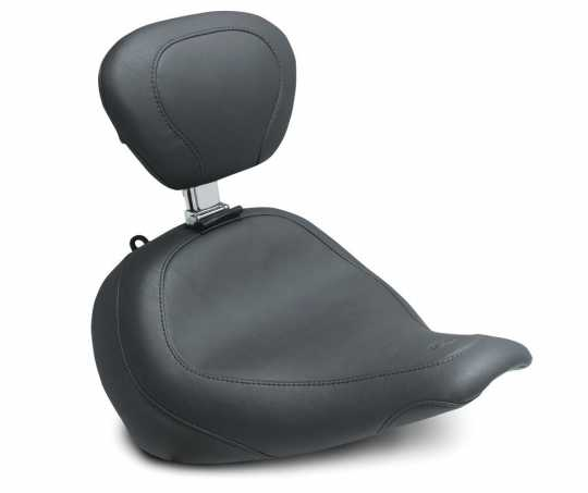 "Mustang Mustang Wide Tripper Solo Seat 14"" with backrest  - 578015"