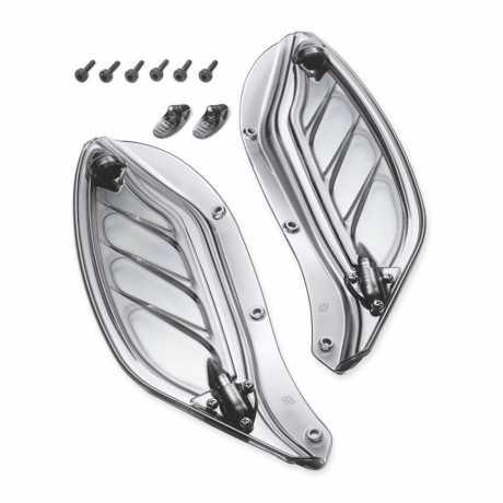 Harley-Davidson Adjustable Air Deflector Kit Light Smoke  - 57804-07