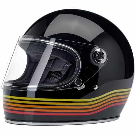 Biltwell Biltwell Gringo S Helmet Gloss Black Spectrum  - 578193V