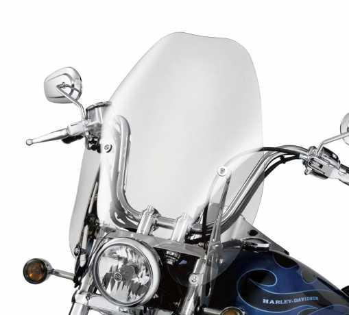 """Harley-Davidson Abnehmbare Super Sport Windschutzscheibe 18"""" leicht getönt  - 57965-97A"""