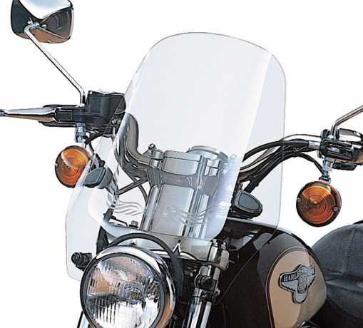 "Harley-Davidson Sport Windshield 17"" light smoke  - 58024-96A"