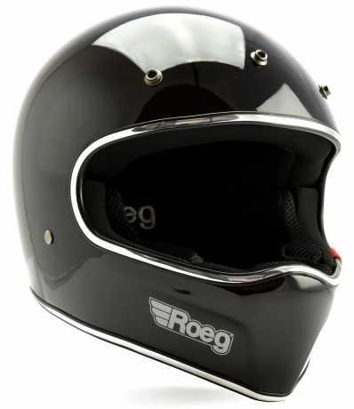 Roeg Roeg Peruna Helmet ECE Black Gloss  - 580651V