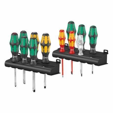 Wera Wera Kraftform Big Pack 300 Plus Screwdriver Kit (12)  - 580776