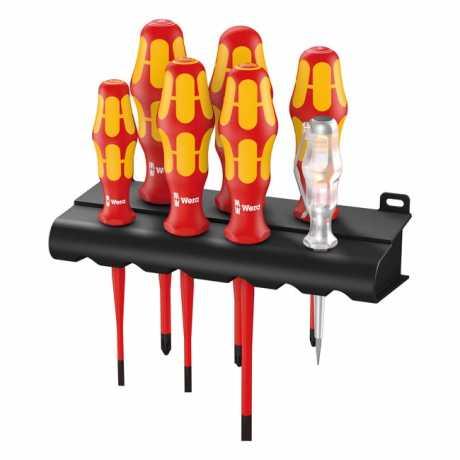 Wera Wera Kraftform Plus Schraubendreher & Voltage Tester Kit (7)  - 580862