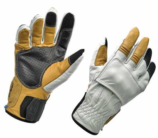 Biltwell Biltwell Belden Handschuhe Cement  - 581272V