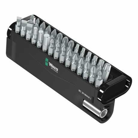 Wera Wera Bit-Check 30 Metal 1 Kit with Holder  - 581850