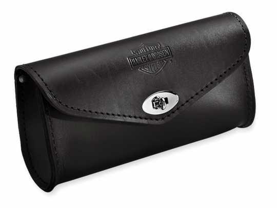 Harley-Davidson Ledertasche für Windschutzscheibe Bar & Shield geprägt  - 58308-95
