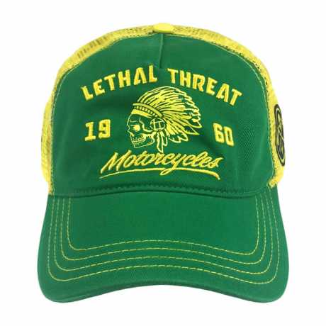 Lethal Threat Lethal Threat Renegade Cap Green/Yellow  - 587414