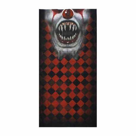 Lethal Threat Lethal Threat Clown Face Tubular Mask Bandana  - 587450