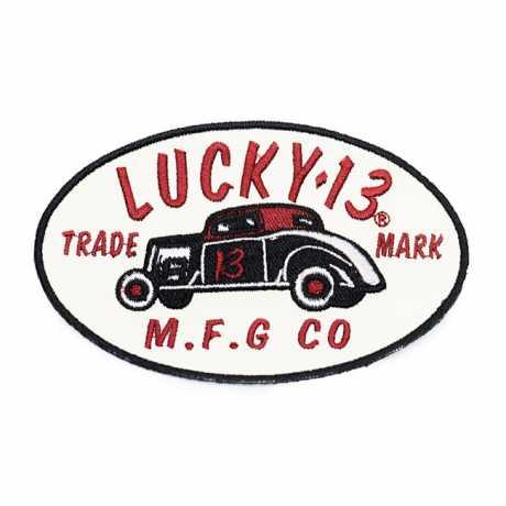 """Lucky 13 Lucky 13 MFG Aufnäher 2.5""""  - 588475"""