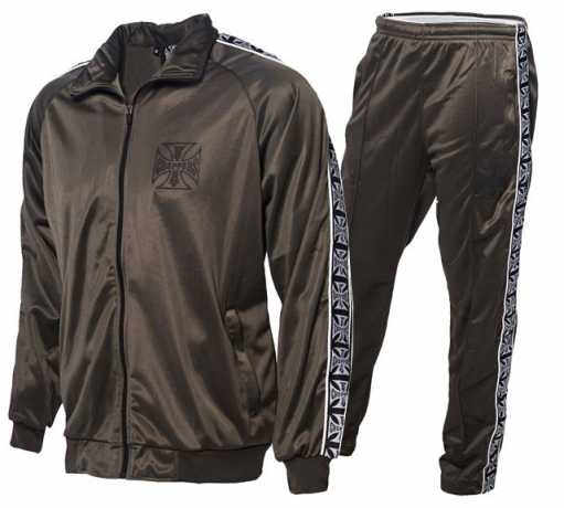 West Coast Choppers West Coast Choppers Tracksuit olive  - 588579V