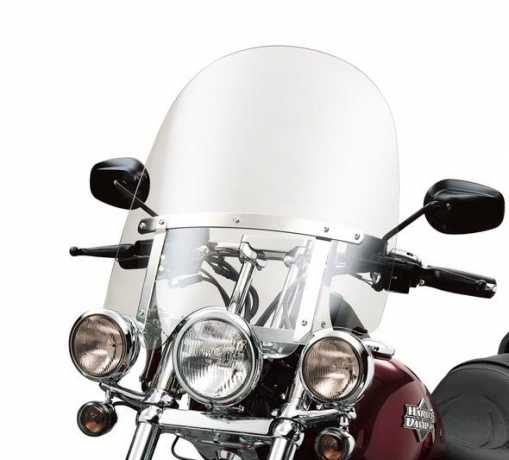"Harley-Davidson Abnehmbare Kompakt-Windschutzscheibe 18"" klar  - 58865-03"