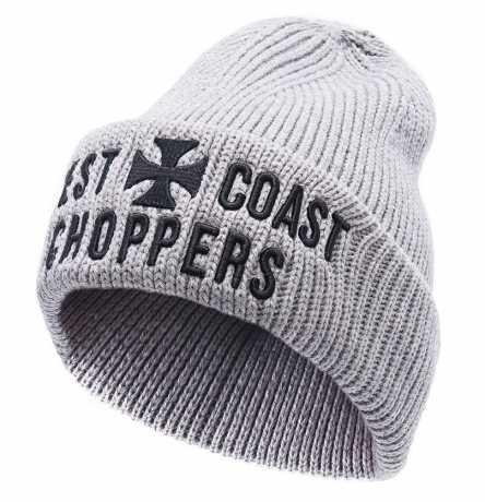 West Coast Choppers West Coast Choppers Cross Rib Beanie grau  - 588689