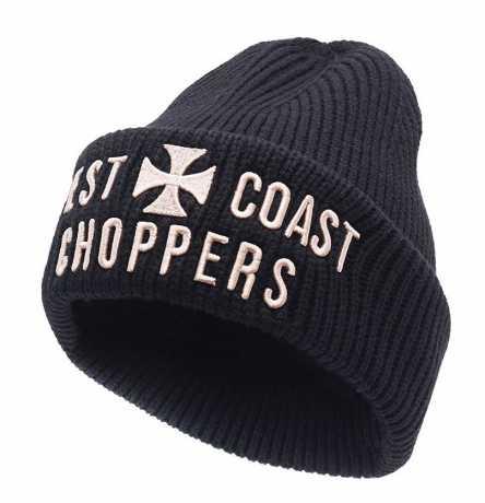 West Coast Choppers West Coast Choppers Cross Rib Beanie schwarz  - 588690