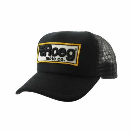 Roeg Roeg Trucker Cap Logo schwarz  - 590053