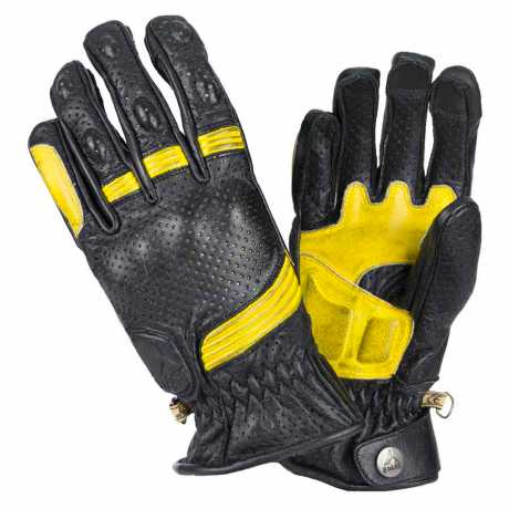 By City By City Retro II Gloves black/yellow  - 590603V