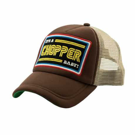 13 1/2 Magazine 13 1/2 Trucker Cap It´s a Chopper Baby, braun  - 590711