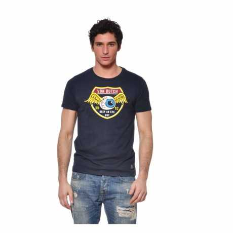 Von Dutch Von Dutch T-Shirt Keep An Eye Out marine blau  - 590987V