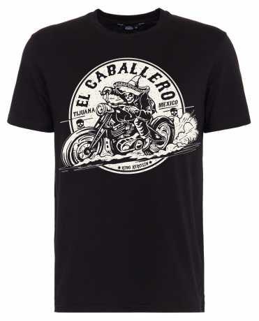 King Kerosin King Kerosin T-Shirt El Caballero schwarz  - 592196V