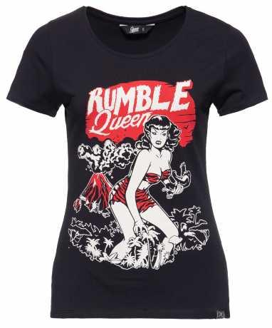 King Kerosin Queen Kerosin women´s T-Shirt Rumble In The Jungle black  - 592219V