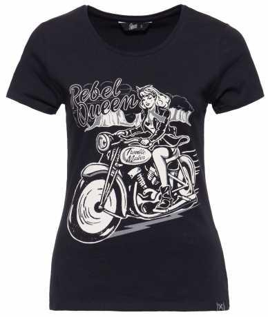 King Kerosin Queen Kerosin women´s T-Shirt Rebel Queen black  - 592224V