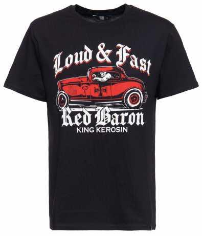 King Kerosin King Kerosin T-Shirt Red Baron schwarz  - 592257V