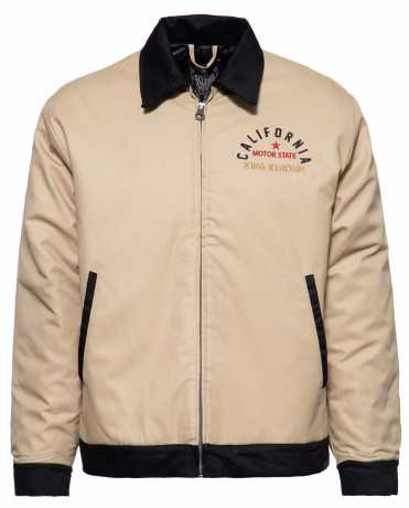 King Kerosin King Kerosin California workwear jacket sand/black  - 592373V