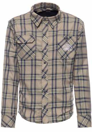 King Kerosin King Kerosin Original 1969 checkered shirt dark blue/crème  - 592385V