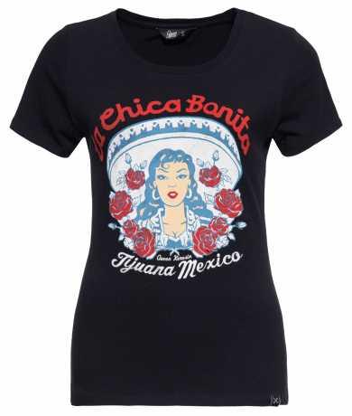 King Kerosin Queen Kerosin La Chica Bonita women´s T-Shirt Black XL - 592461
