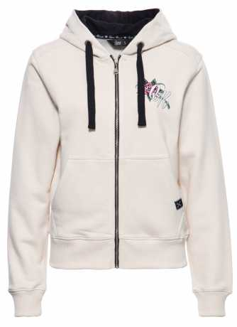 King Kerosin King Kerosin Queen of the Road Zip Hoodie beige  - 592507V
