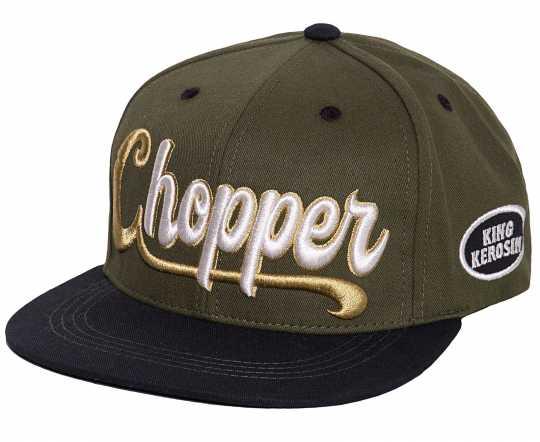 King Kerosin King Kerosin Chopper 3D Cap grün/schwarz  - 592602