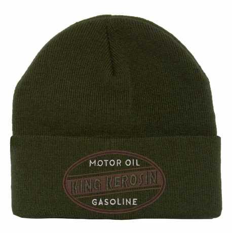 King Kerosin King Kerosin Motor Oil Beanie Mütze olive  - 592616