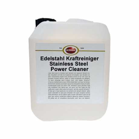 Autosol Autosol Stainless Steel Power Cleaner Canister 10 Liter  - 598059