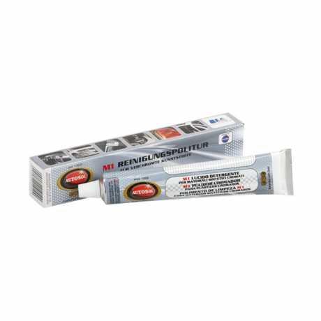 Autosol Autosol M1 Cleaning Polish for Plastic Chrome Tube 75ml  - 598072