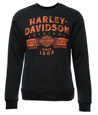 H-D Motorclothes Harley-Davidson Sweatshirt Sudden Grip schwarz  - 5AC4-HK58