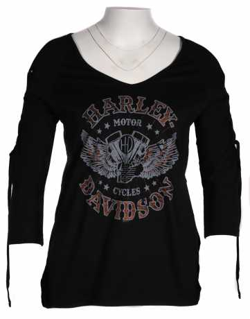 H-D Motorclothes Harley-Davidson women´s Longsleeve Tough and Proud  - 5AF2-HK4U