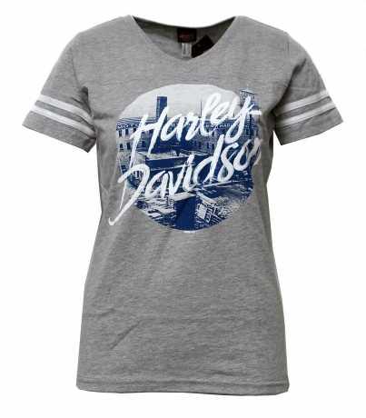 H-D Motorclothes Harley-Davidson Damen T-Shirt Breathless View grau  - 5AM4-HK5Z