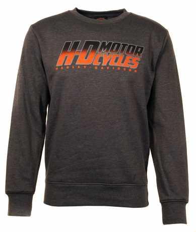 H-D Motorclothes Harley-Davidson Sweatshirt Flaming Royalty grau  - 5AQ2-HK25