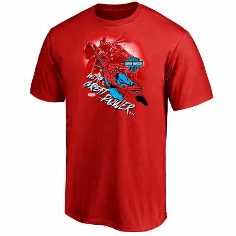 H-D Motorclothes H-D Marvel Kids T-Shirt With Great Power  - 5FG9-HMB9