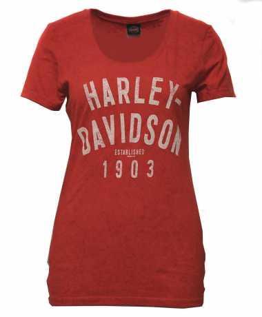 H-D Motorclothes Harley-Davidson Damen T-Shirt Hard Break orange  - 5J0P-HK53
