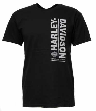 H-D Motorclothes Harley-Davidson T-Shirt Tame of Trail black  - 5K18-HHUH