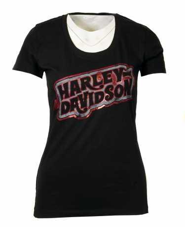 H-D Motorclothes Harley-Davidson women´s T-Shirt High-Voltage  - 5L32-HHWE