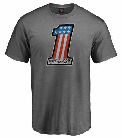 H-D Motorclothes Harley-Davidson T-Shirt The Big One grey  - 5L33-H29N