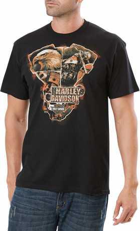 H-D Motorclothes Harley-Davidson Men's T-Shirt Postcard From Heaven  - 5L33-HH38