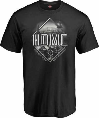 H-D Motorclothes Harley-Davidson T-Shirt Vintage Philosphy XL - 5L33-HHKV-XL