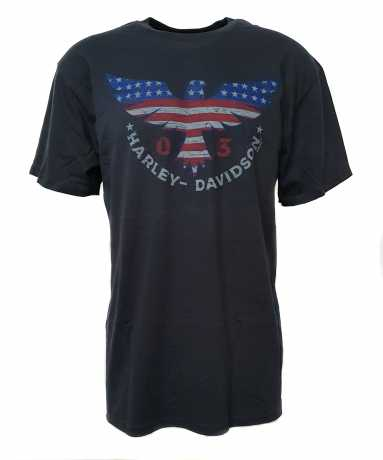 H-D Motorclothes Harley-Davidson T-Shirt Iconic Freedom grey  - 5L33-HHTP