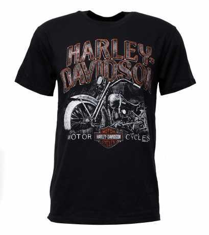H-D Motorclothes Harley-Davidson T-Shirt Miles of Wisdom schwarz  - 5L33-HHTS